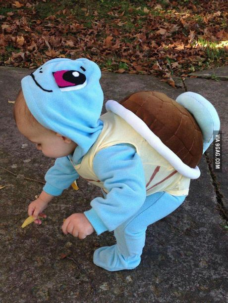 Pokemon Squirtle Costume.