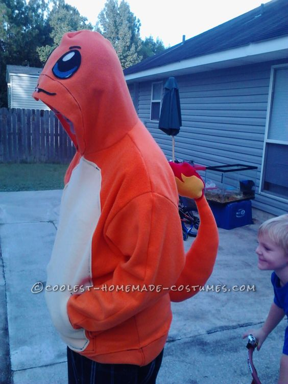 Pokemon Charmander Costume.