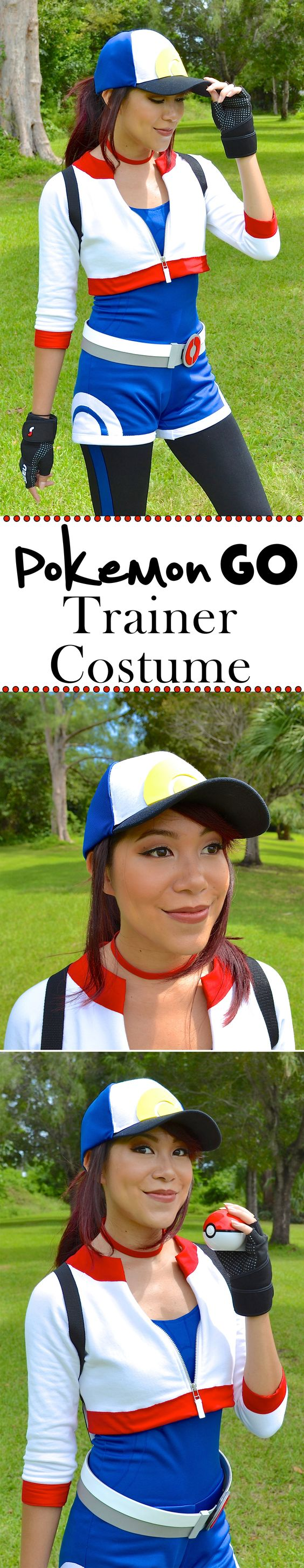 Pokemon Go Trainer Costume.