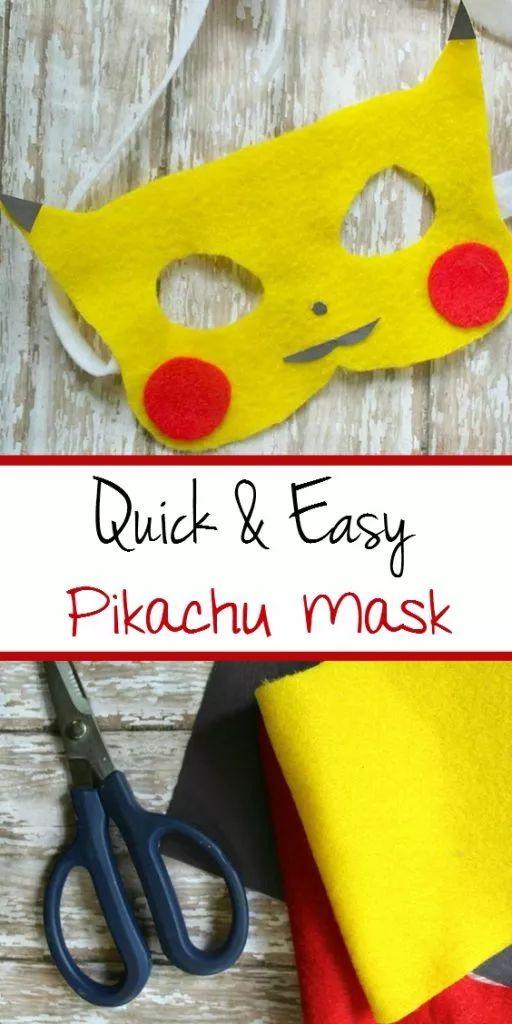 Pikachu Mask.