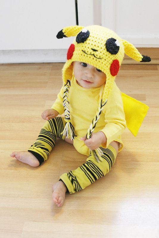 Pikachu Baby Costume.