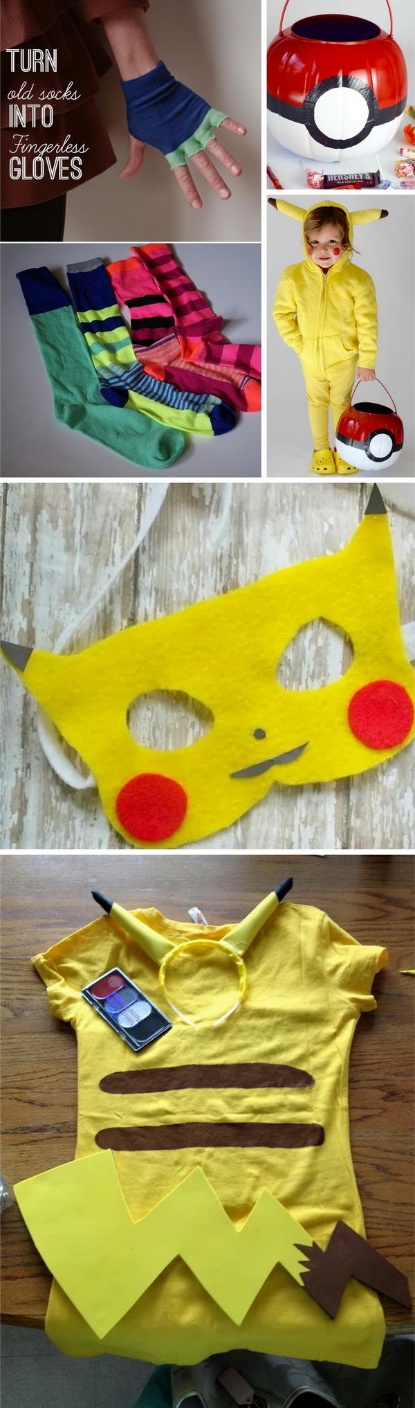 Pokemon Costumes for Halloween.