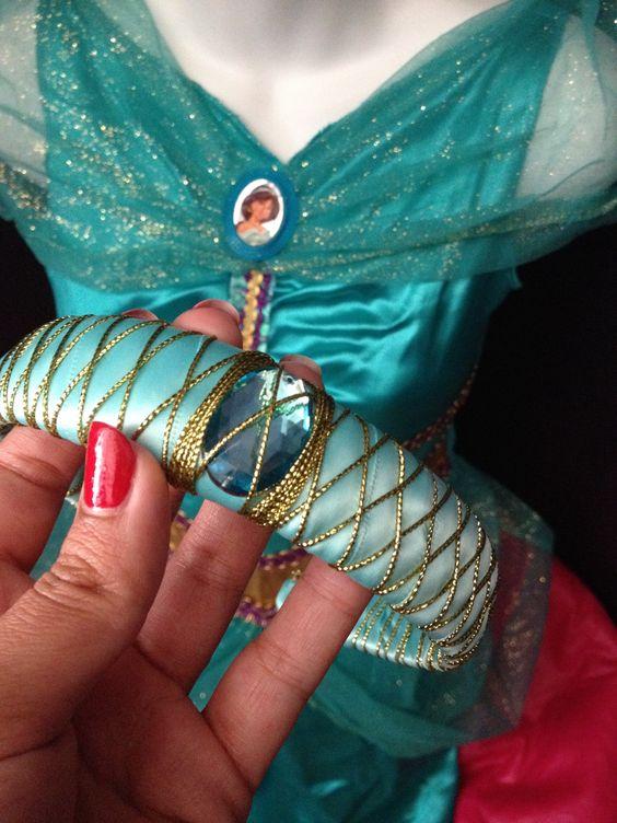 Princess Jasmine's DIY Headband.