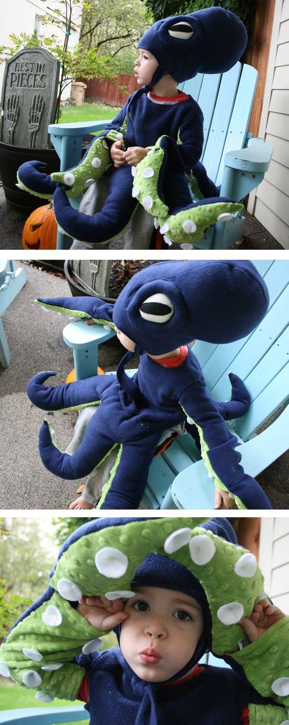 Octopus Halloween Costume.