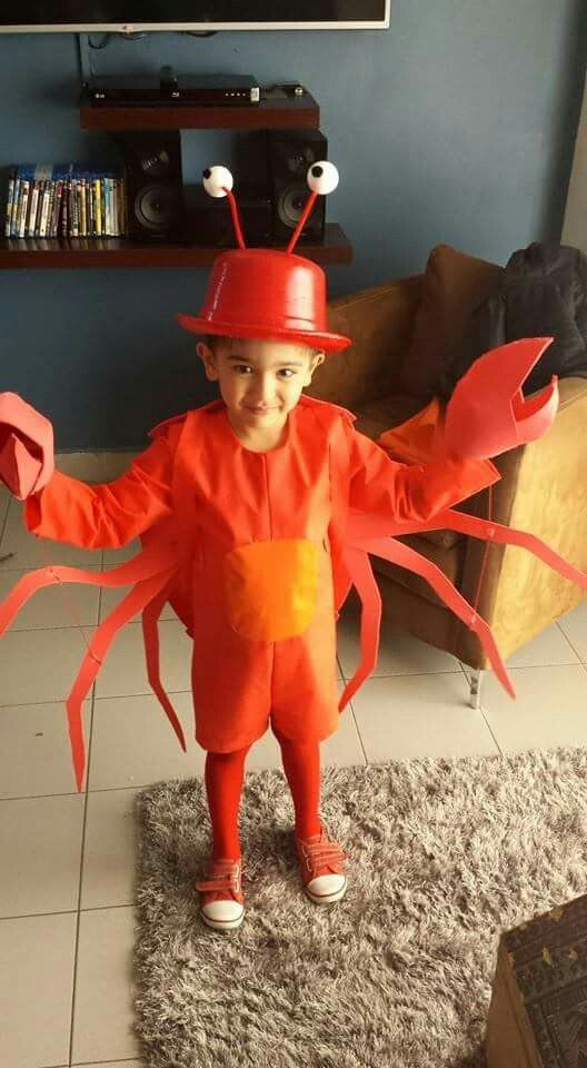 Crab Costume  sc 1 st  IdeaStand & 20+ Under The Sea Costumes for Halloween 2017
