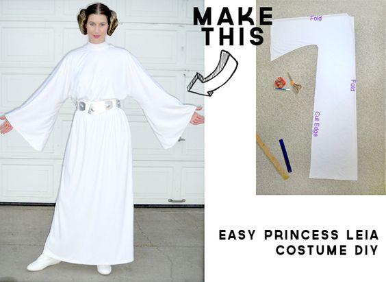 20 star wars costumes and diy ideas 2017 diy princess leia costume solutioingenieria Choice Image