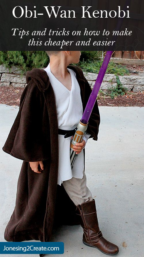 Jedi Obi-Wan Kenobi Costume.