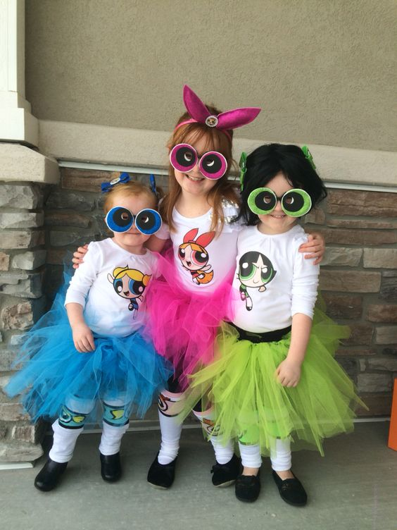 Powerpuff Girl Costumes.