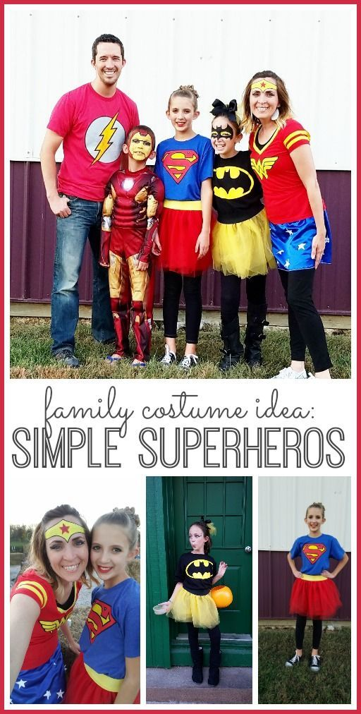 Family Superhero Costume.