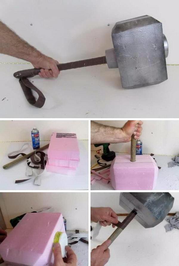 DIY Thor's Hammer.