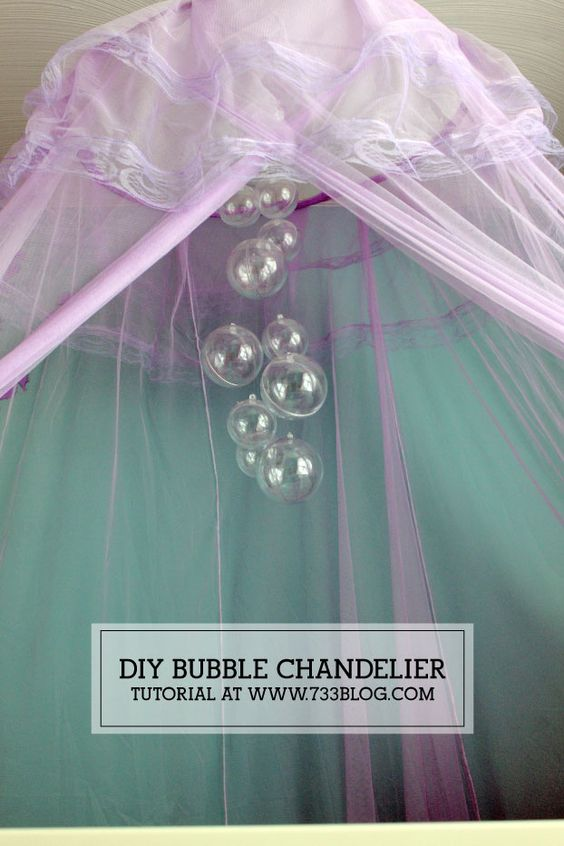 DIY Bubble Chandelier.