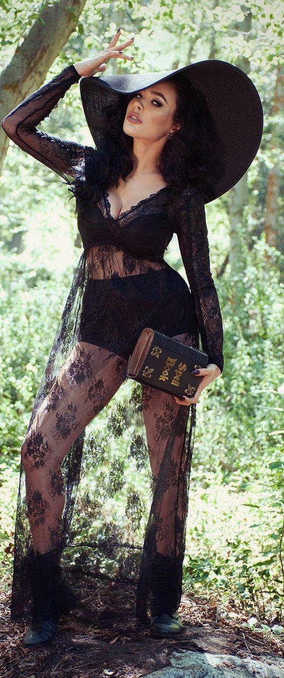 Sexy Witch Costume.