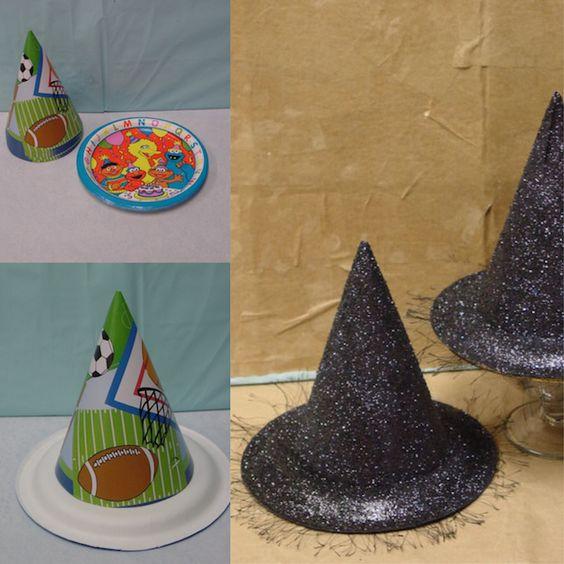 Glitterey Witch Hat.