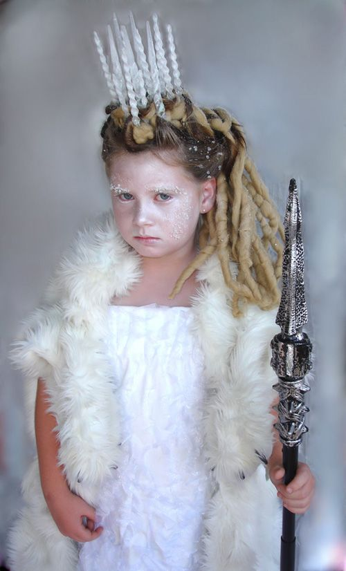 White Witch Narnia Costume.