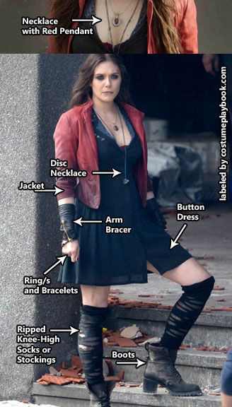 Scarlet Witch Costume.