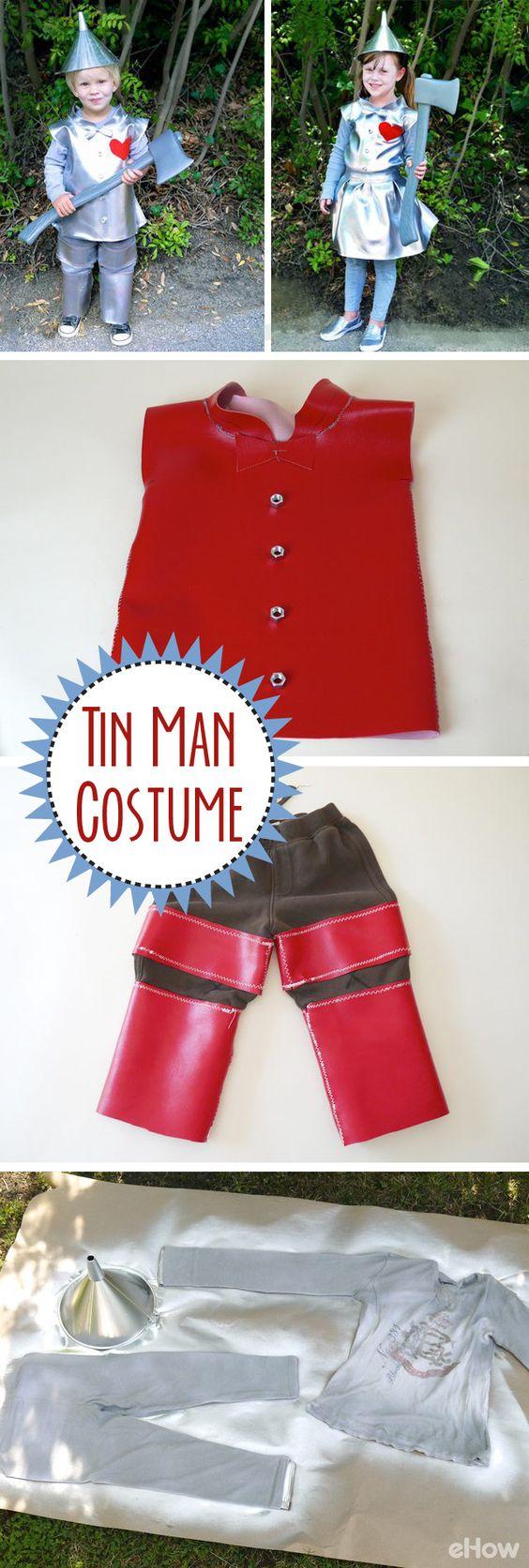 Tin Man Wizard of Oz Costume.