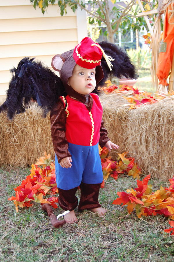 Cute Flying Monkey Costume from Wizard of Oz.