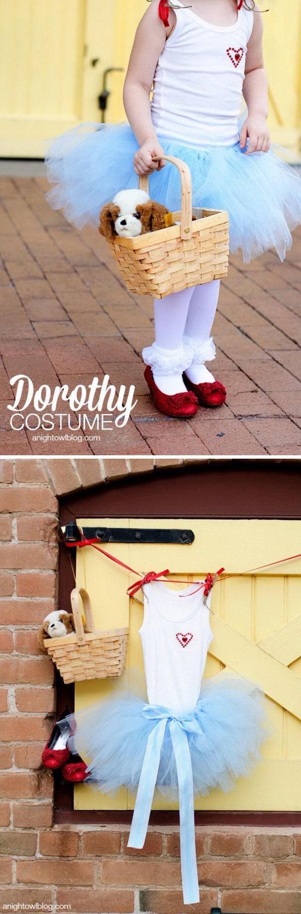 Wizard of Oz Dorothy Costume.