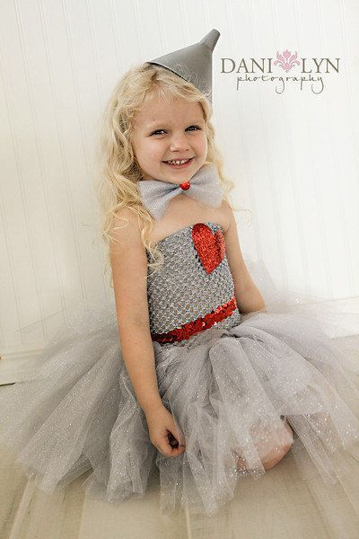 Wizard of Oz Tin Man Costume for Girls.
