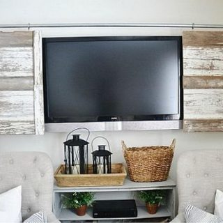 15 Stylish Ways To Hide TV