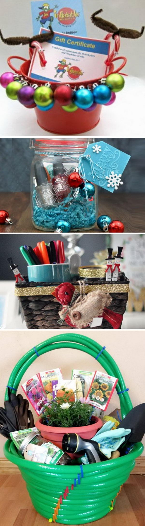 25 DIY Christmas Gift Basket Ideas 2017