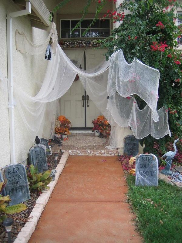 Halloween Graveyard.
