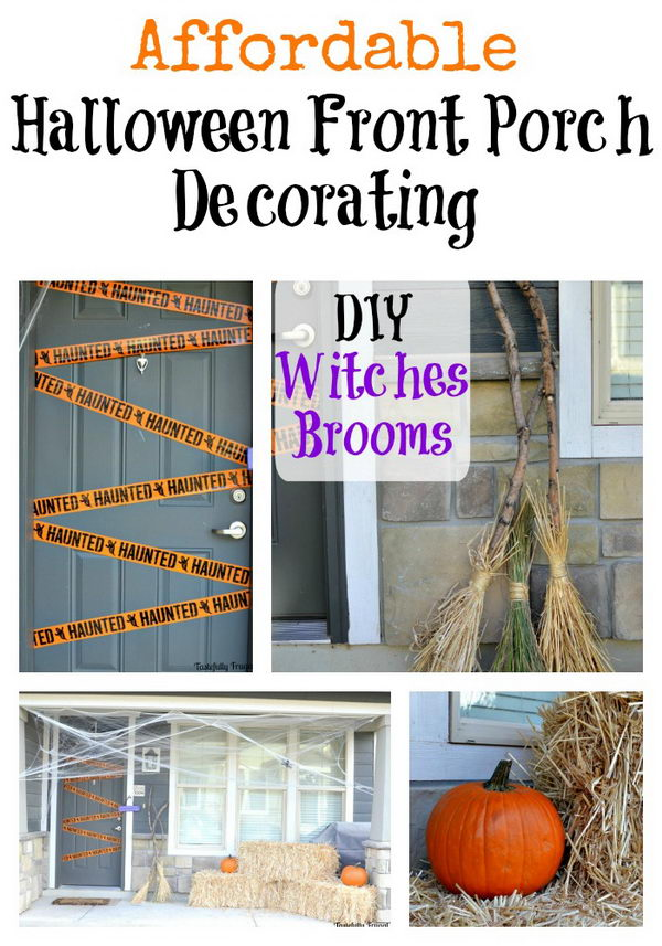 DIY Witches Brooms.