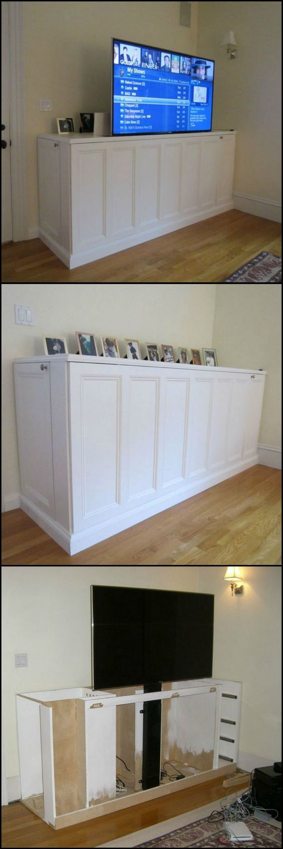 Make A TV Lift Cabinet.