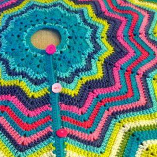 10+ Crochet Christmas Tree Skirt Ideas