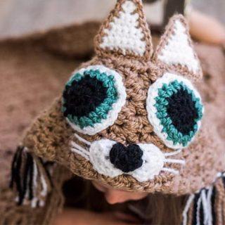 15 Crochet Hooded Blanket Ideas