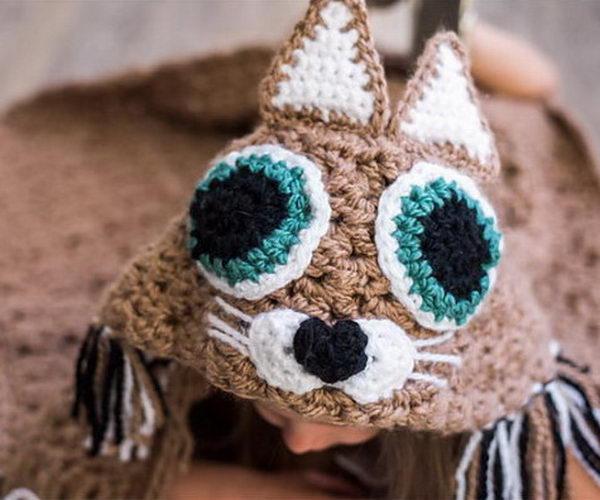 6 crochet hooded blanket ideas thumb