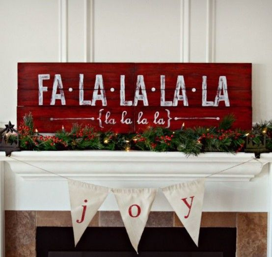 DIY Merry Christmas Sign.