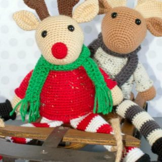10+ Amigurumi Crochet Christmas Softies Toys Ideas
