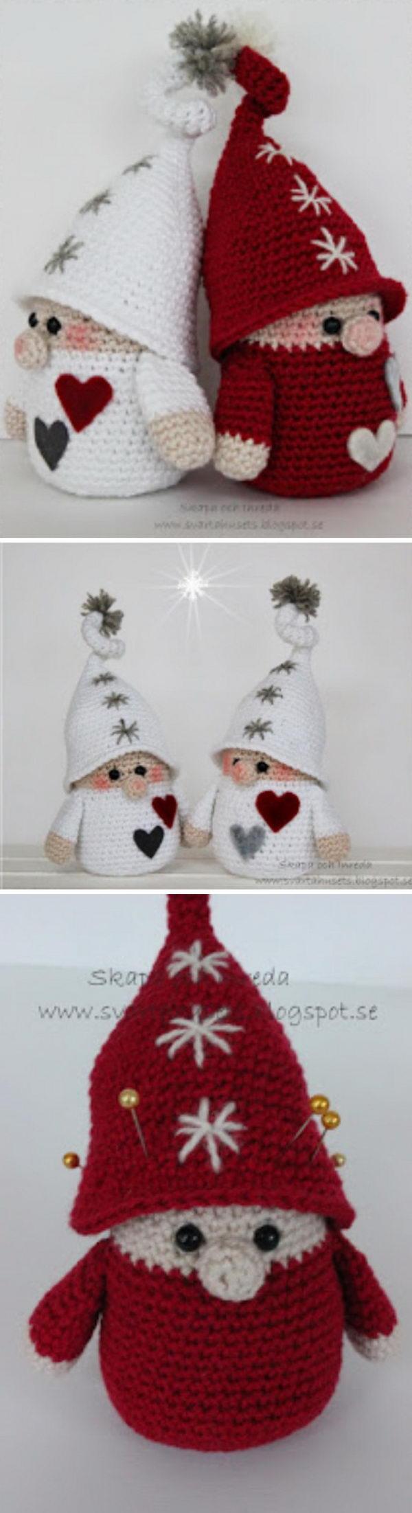 Crochet Gnome.