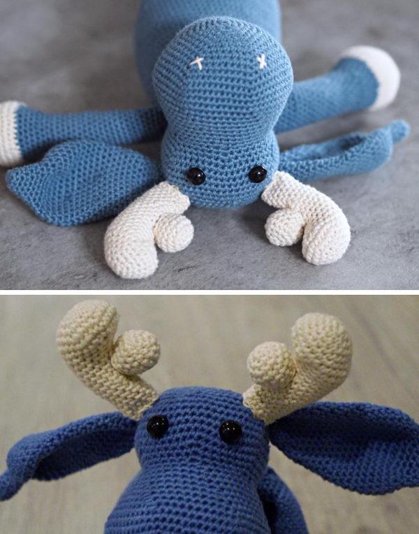 Crochet Moose.