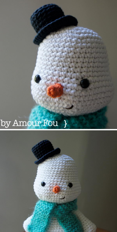 Christmas Snowman.