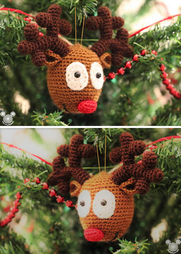 Prudolph Reindeer Ornament.