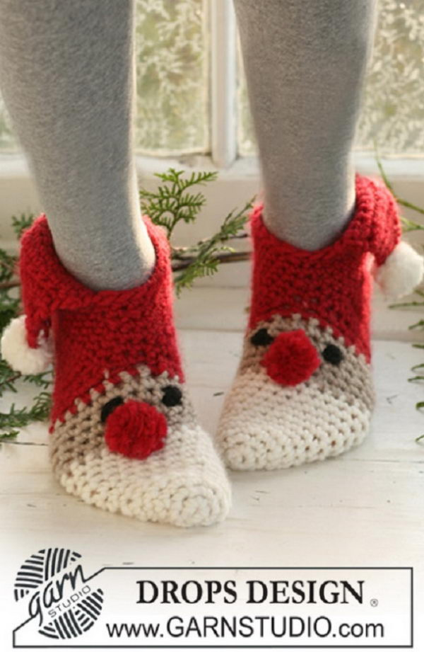 Christmas Slippers.