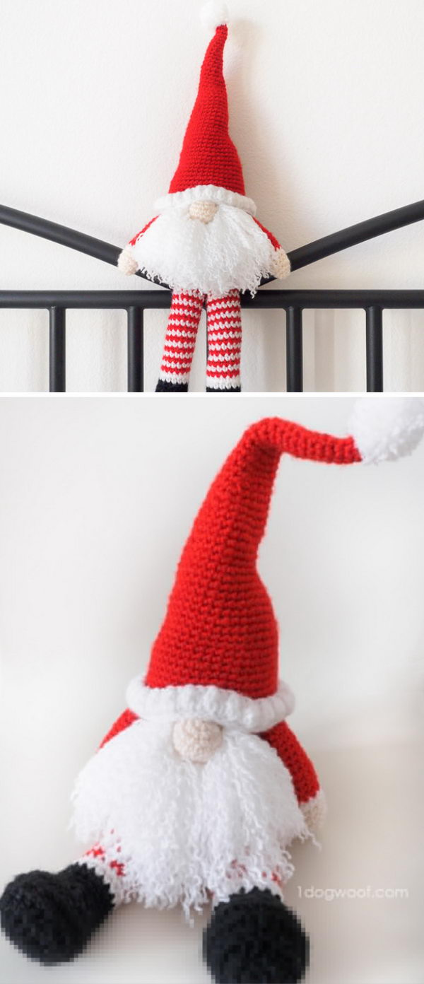 25 crochet santa claus ideas 2017 scandinavian santa gnome bankloansurffo Image collections