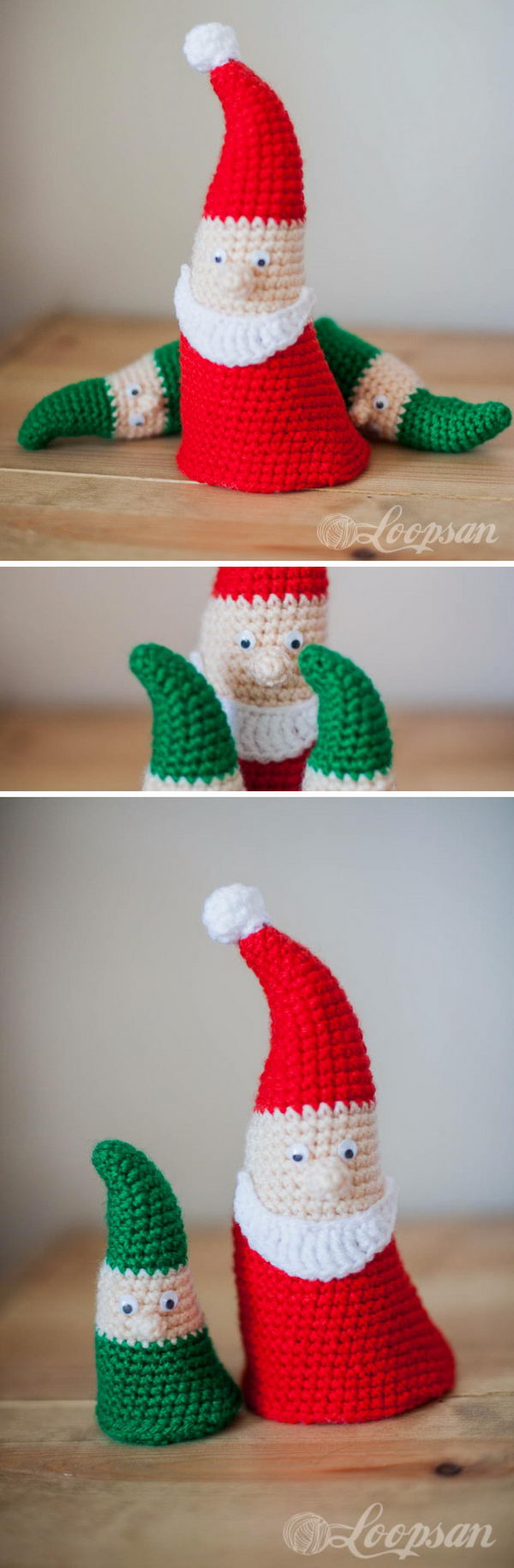 25 Crochet Santa Claus Ideas 2017