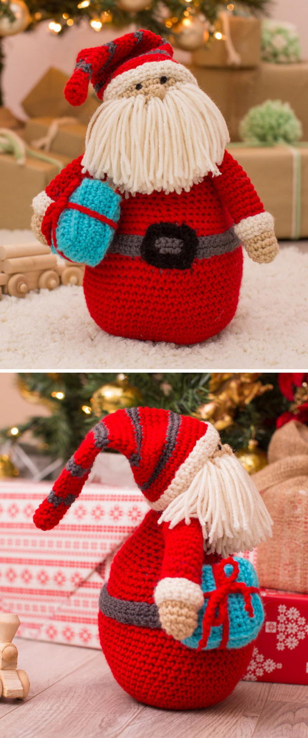 Huggable Santa Pillow.