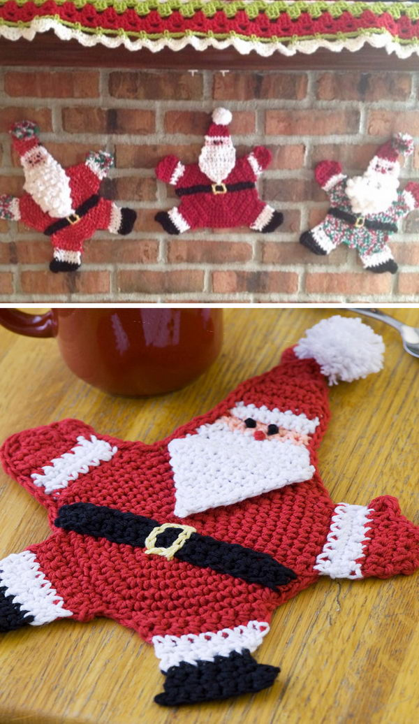 Mr. Claus Potholder.