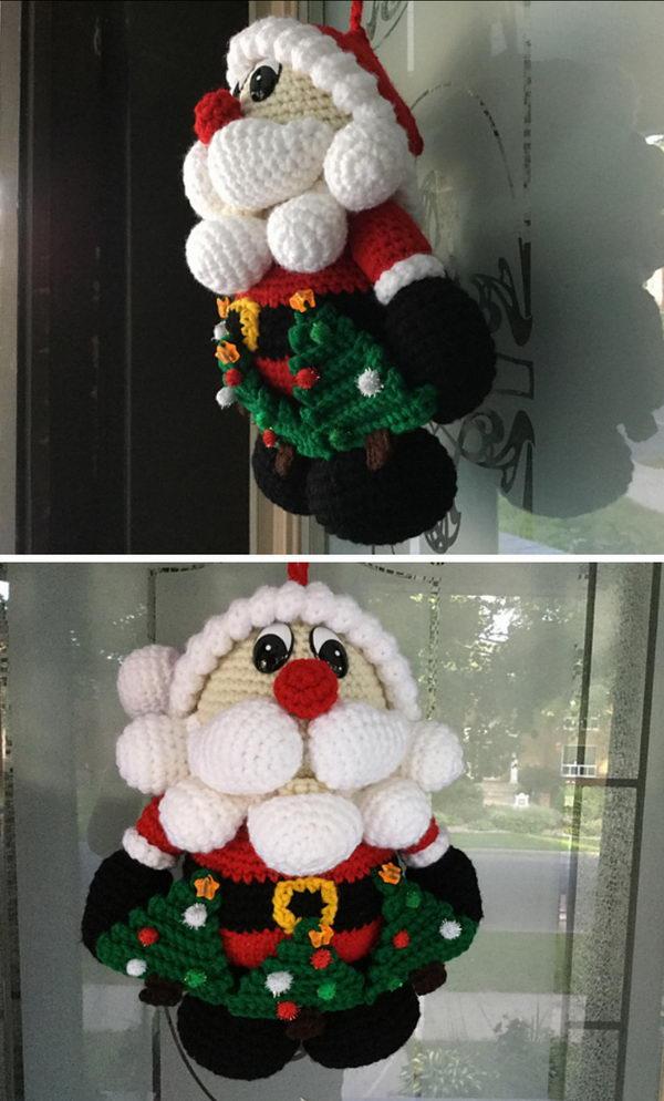 Santa Door Hanger.