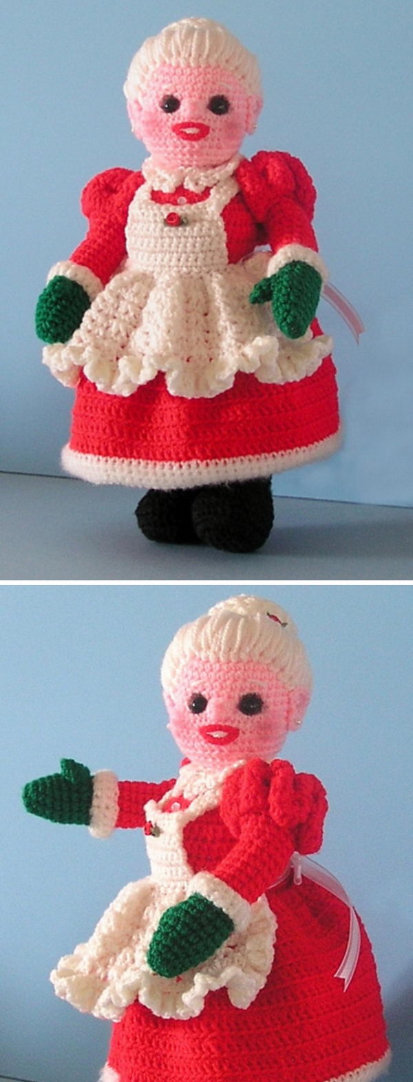 Mrs Santa Claus Doll.