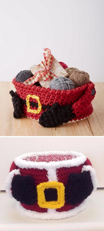 25 crochet santa claus ideas 2017 santas gift basket bankloansurffo Image collections