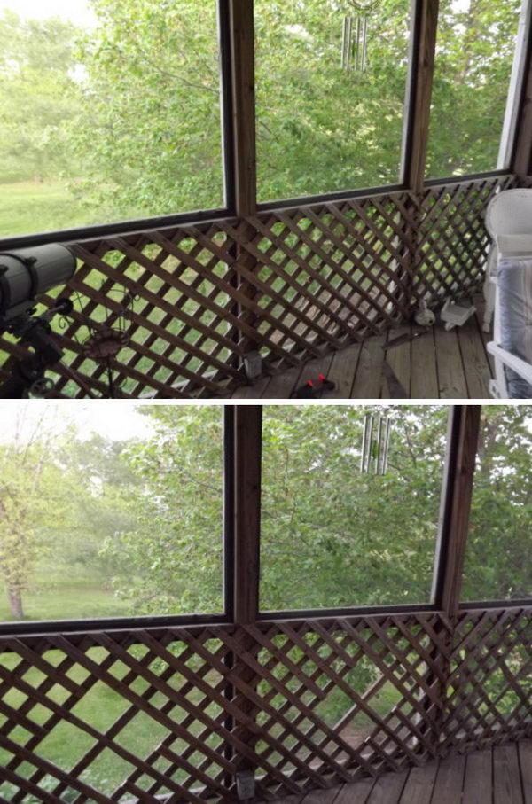 The Lattice Porch Panels Makeover.