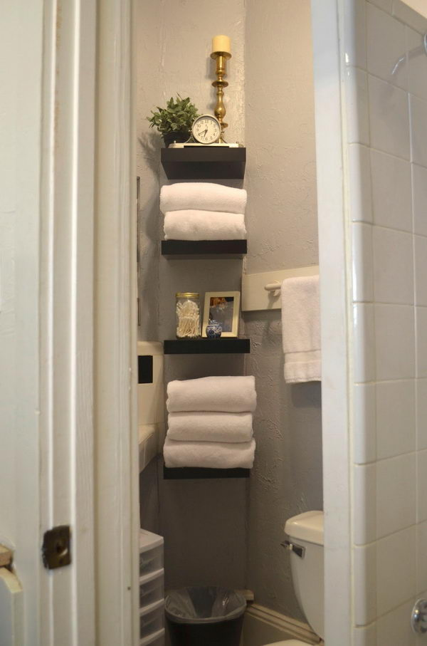 Diy Over The Toilet Storage
