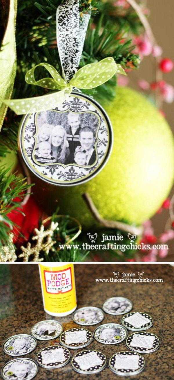 Family Christmas Ornament.