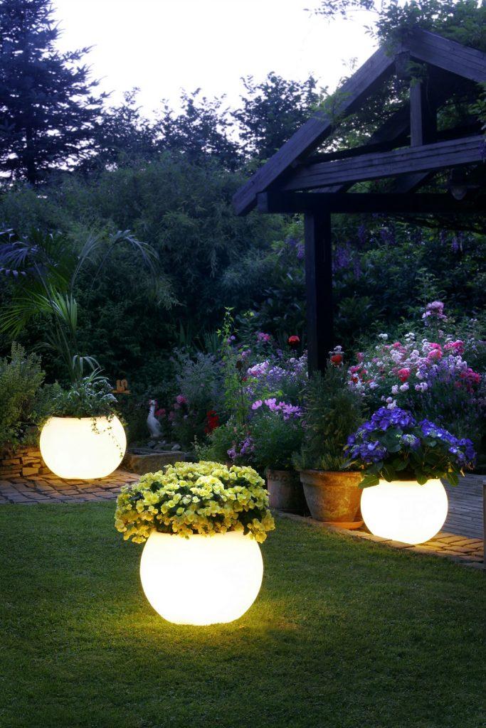 The Glow Pots.
