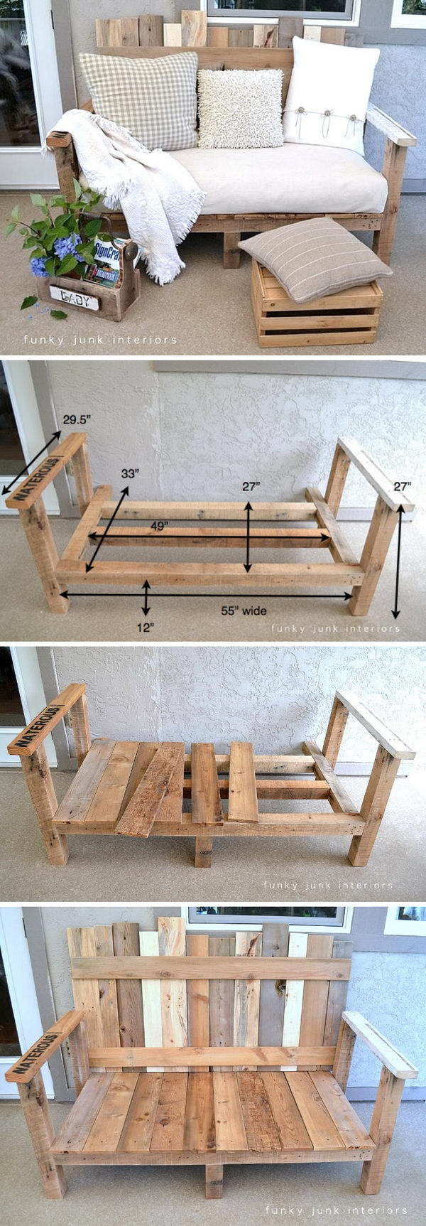 25 Easy Diy Pallet Projects For Home Decor 2017